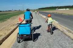 Nouvelle piste cyclable entre les Essarts et St Rémy l'Honoré